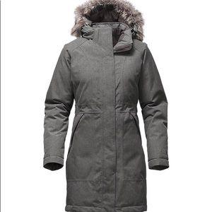 Women's arctic down parka North face winter coat